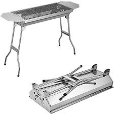 AIVISY <b>Barbecue</b> Charcoal Grill <b>Large</b> Portable Outdoor Steel ...