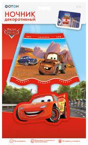 """Купить <b>Ночник декоративный</b> """"<b>ФОТОН</b>"""", Disney/Pixar """"Тачки"""" по ..."""