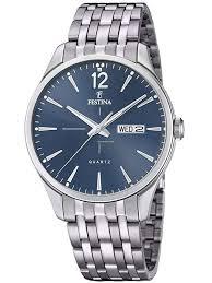 Купить <b>часы Festina F20204</b>/<b>3</b> Retro Day-Date Herrenuhr 41mm ...