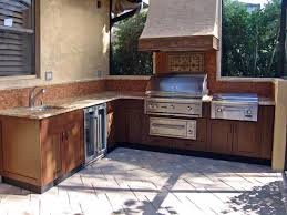 set cabinet full mini summer:  ci danver outdoor kichen wood grained powder coated stainless cabinets sxjpgrendhgtvcom