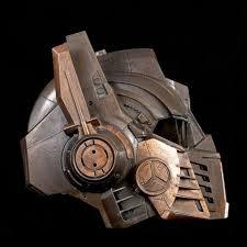 Steampunk Copper Optimus Prime <b>Helmet</b> Profile by artfordable ...