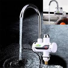 220V <b>LED Digital Display Instant Heating</b> Electric Water Heater ...