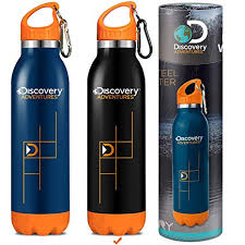 Discovery Adventures Insulated <b>Water</b> Bottle 500ml/<b>600ml</b>/<b>750ml</b> ...