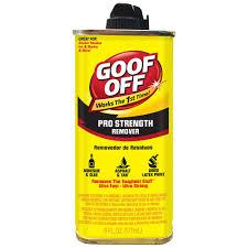 goof off oz professional strength remover fg the home depot professional strength remover