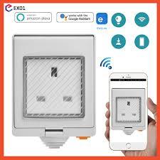 <b>SONOFF S55 IP55</b> waterproof Wi-Fi Smart Socket MY version ...