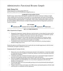 administrative assistant resume     download free documents in    administrative assistant resume template download