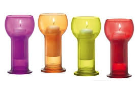 <b>Подсвечник со свечей Lucilla</b> 6цветов в наличии купить от ...