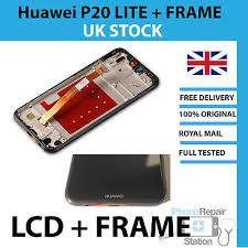 <b>Genuine Huawei</b> P20 Lite LCD Screen <b>Replacement</b> with FRAME ...