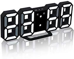 KKmoon <b>3D Led Digital</b> Clock With Night Mode Adjust The ...