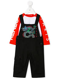 <b>Kenzo</b> Kids - <b>комбинезон</b> Dragon - Для детей - Хлопок - 24 мес ...