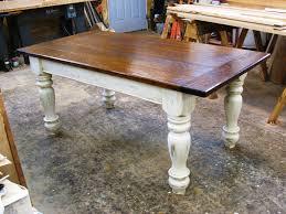 antique farmhouse dining table elm