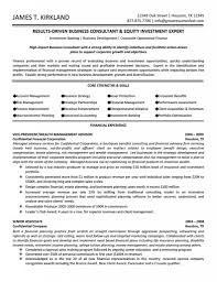 best business consultant resume consultant resume livecareer