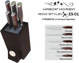 <b>Набор ножей TimA Eco Style</b> из нержавеющей стали, 6 ...
