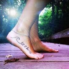 Foot Quote Tattoos on Pinterest | Small Quote Tattoos, Rib Quote ... via Relatably.com