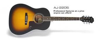 <b>Epiphone AJ</b>-<b>220S</b>