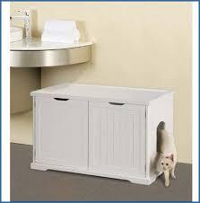 cat litter box furniture bench cat litter box furniture diy