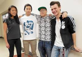 watchung hill regional high school talent show renna media above the band no fugasi featuring from left juniors natalie kim