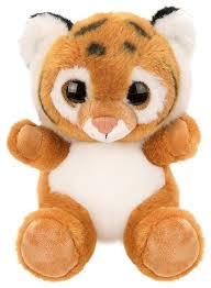 Мягкая <b>игрушка Fluffy Family</b> Крошка Тигренок 15 см — купить по ...