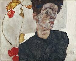 Self-Portrait with Chinese <b>Lantern</b> Plant - Egon Schiele — Google ...