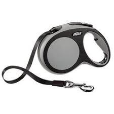 <b>Рулетка Flexi New Comfort</b> L (до 50 кг) лента 8 м черный/серый
