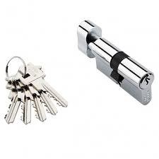 <b>Ключевой цилиндр Adden</b> Bau 5-60 KNOB Хром 60 мм в Майкопе ...