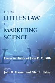 from little s law to marketing science the mit press from little s law to marketing science