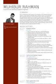 1st2nd line desktop support resume samples desktop support resume sample