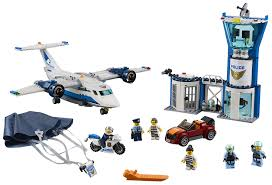 <b>Конструктор LEGO</b> City 60210 <b>Воздушная полиция</b>: авиабаза ...