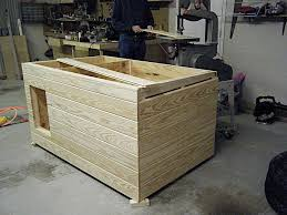 Insulated Dog House   by Mijohnst   LumberJocks com  woodworking    My