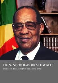 Sir Nicholas Alexander Brathwaite headed the Interim Government appointed by Governor General Sir Paul Scoon following the military invasion by the United ... - nicholas_brathwaite