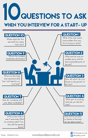 10 questions you should ask when you interview for a start up 10 questions to ask when your interview a