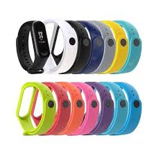 <b>A1 Color silicone</b> strap for xiaomi Band 3 and 4 generations | Home ...