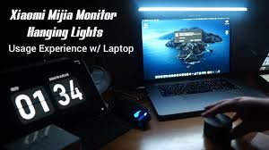 Xiaomi <b>Mijia Monitor</b> Hanging Light - Usage Experience w/ Laptop ...