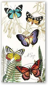 <b>Michel Design Works</b> 15 Count Hostess Napkins, <b>Papillon</b>