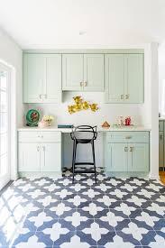 laminate cabinets green kitchen