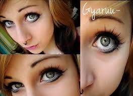 gyaru doll make up by mariemystery