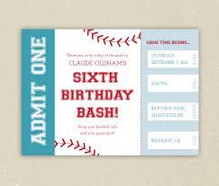 birthday invitations printable baseball birthday kids baseball birthday invitations