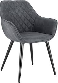 <b>Dining chairs with armrests</b> - model Kevin | Woltu.eu