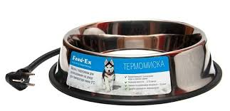 <b>Миска Feed</b>-<b>Ex</b> С <b>подогревом</b> для собак и других домашних ...