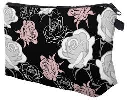 <b>Косметичка HOMSU White</b> Roses — купить по выгодной цене на ...