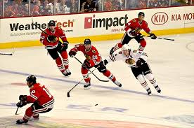 photo essay  what i learned from the blackhawks red white      hockey