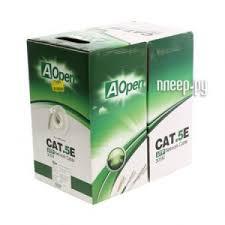 <b>Сетевой кабель AOpen</b> CU <b>UTP</b> cat.5e ANC504-40CU, код ...