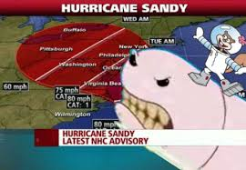 Is Hurricane Sandy Giving A Bump To The Fandom? - SpongeBob ... via Relatably.com