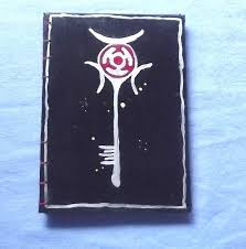 Coptic Stitch Journal A5 Greek <b>Goddess</b> Hekate Black <b>Red and</b> ...