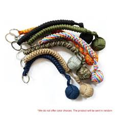 <b>Portable Outdoor Self Defense</b> Survive Hanging Knot Ball Hand ...