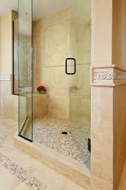 bathroom ideas corner shower design: bathroom likeable shower designs  bathroom interior light brown glass tile shower wall with brown marble panel combined with frameless double swing glass door shower designs with glass tile x