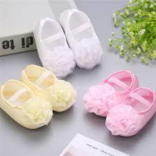 <b>2pcs Set</b> Baptism <b>Baby</b> Girl Sapato bebe Menina Rosset shoes ...
