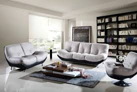 dazzling modern living room furniture sets with sofa and loveseat plus pedestal chair completed with table awesome contemporary living room furniture sets