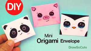 How to Make a <b>Mini</b> Origami <b>Envelope</b> Super Easy - YouTube