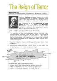 causes of the reign of terror school history causes of the reign of terror